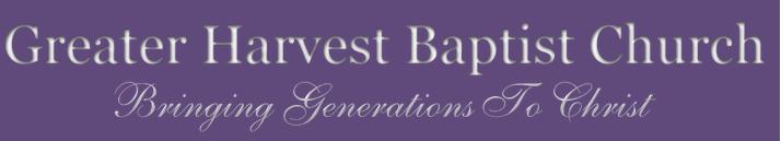 Greater Harvet logo